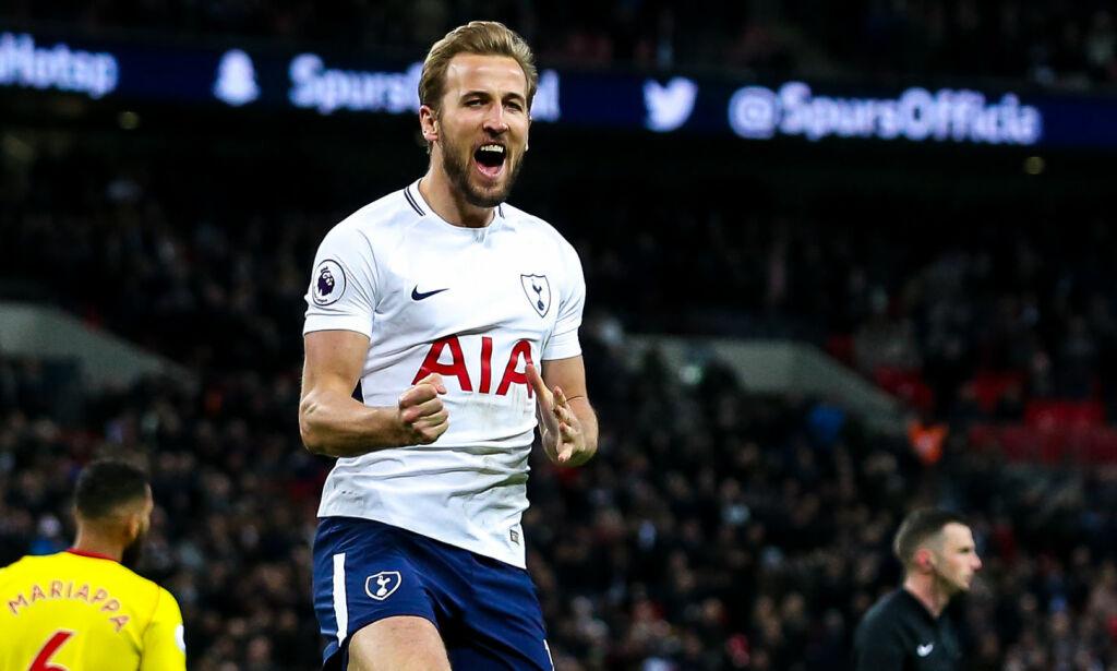 image: Kane har ikke gitt opp toppscorertittelen. Minsket avstanden til Salah