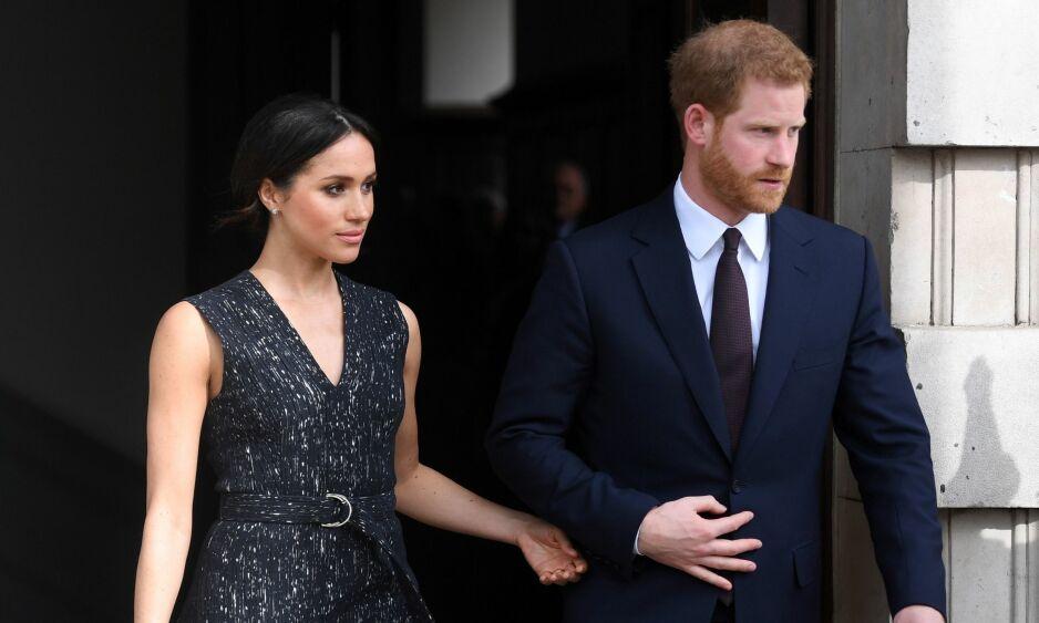 GIFTEKLARE: Meghan Markle og prins Harry gifter seg førstkommende lørdag, og det ble fredag klart at bruden skal føres til alters av sin svigerfar. Foto: NTB scanpix
