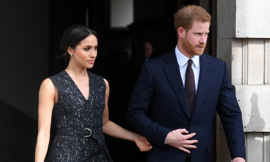 LADER OPP: Meghan Markle og prins Harry har ryddet kalenderen før bryllupet, og vil trolig ikke dukke opp i offentligheten før den store dagen. Foto: NTB Scanpix