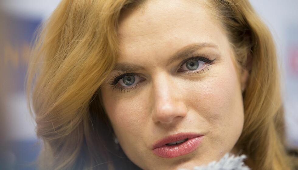 FORVENET SAK: Gabriela Koukalova er ikke overrasket over saken mot IBU. Foto: Berit Roald / NTB Scanpix
