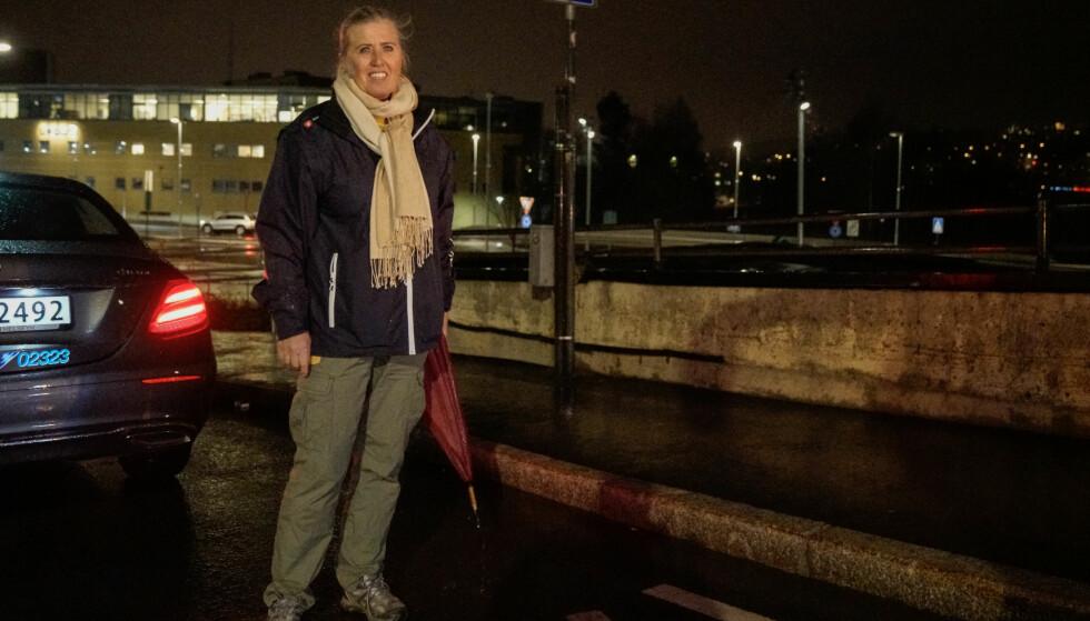 NYKOMMER: Tone Ims Larssen innrømmet at hun aldri hadde vært på Vestli før denne kvelden. Foto: Øistein Norum Monsen / Dagbladet