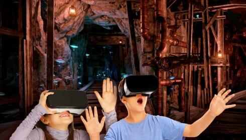 VIRTUELT: Tusenfryd satser på VR-briller og 3D-effekter. Illustrasjon: Tusenfryd