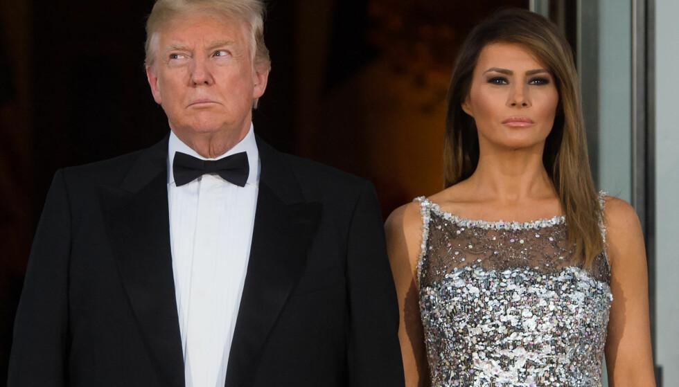 INNLAGT PÅ SYKEHUS: USAs førstedame Melania Trump er innlagt på sykehus og har gjennomgått en nyreoperasjon, opplyser Det hvite hus. Foto: NTB scanpix