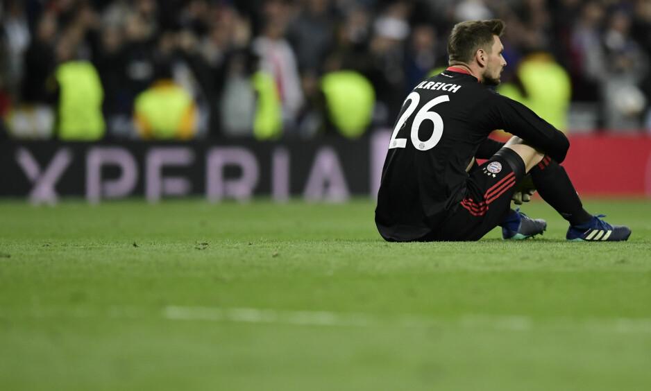 VOND TABBE: Sven Ulreich gjorde ei lei tabbe som ga Real Madrid ledelsen. Foto: AFP PHOTO / JAVIER SORIANO