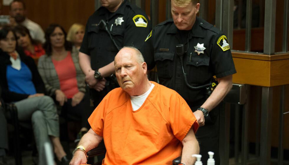 SIKTET: Politiet mener Joseph James DeAngelo (72) er «The Golden State killer». Foto: Sacramento Bee/Randy Pench/Pool via REUTERS