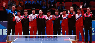 Bildet av Nord- og Sør-Korea som rører: - Et historisk øyeblikk