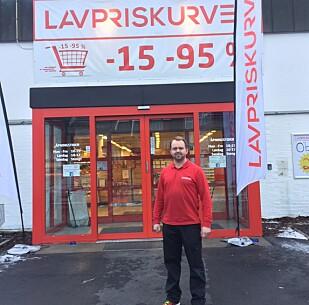 UTVIDER: Butikklokalet til Markus Andersson på Gjerdrum er i ferd med å bli for lite. Foto: Tine Faltin
