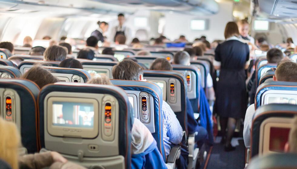 DE VI HATER MEST: Igjen er verdens verste flypassasjerer kåret. Setesparkerne tar igjen en overlegen førsteplass. Foto: Shutterstock / NTB Scanpix