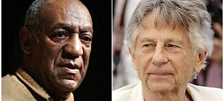 Oscar-akademiet ekskluderer Cosby og Polanski