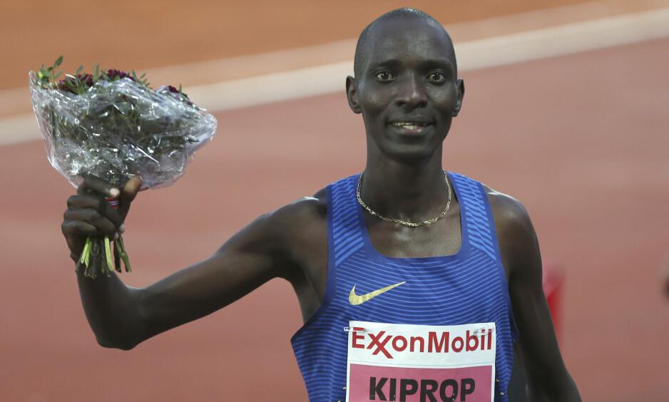 DOPET: Asbel Kiprop har testet positivt for EPO. Foto: Vidar Ruud / NTB scanpix