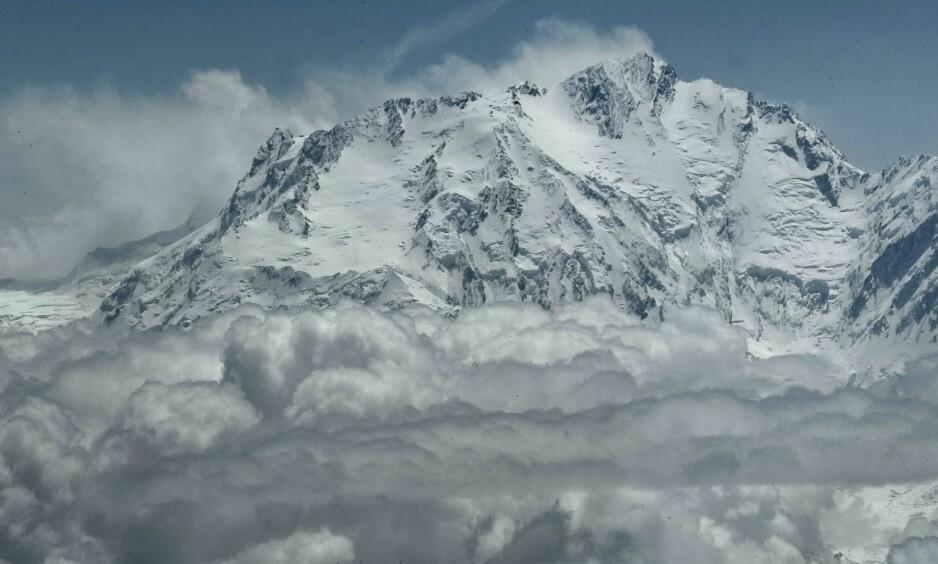 NANG PARBAT: Verdens niende høyeste fjell har fått tilnavnet «dødsfjellet». Foto: NTB Scanpix