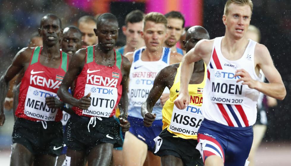 KRITISK: Sondre Nordstad Moen trener i Kenya og beskriver anti-dopingarbeidet i landet som ikke-eksisterende. Han blir selv testet hyppig. Foto: NTB scanpix / Junge, Heiko
