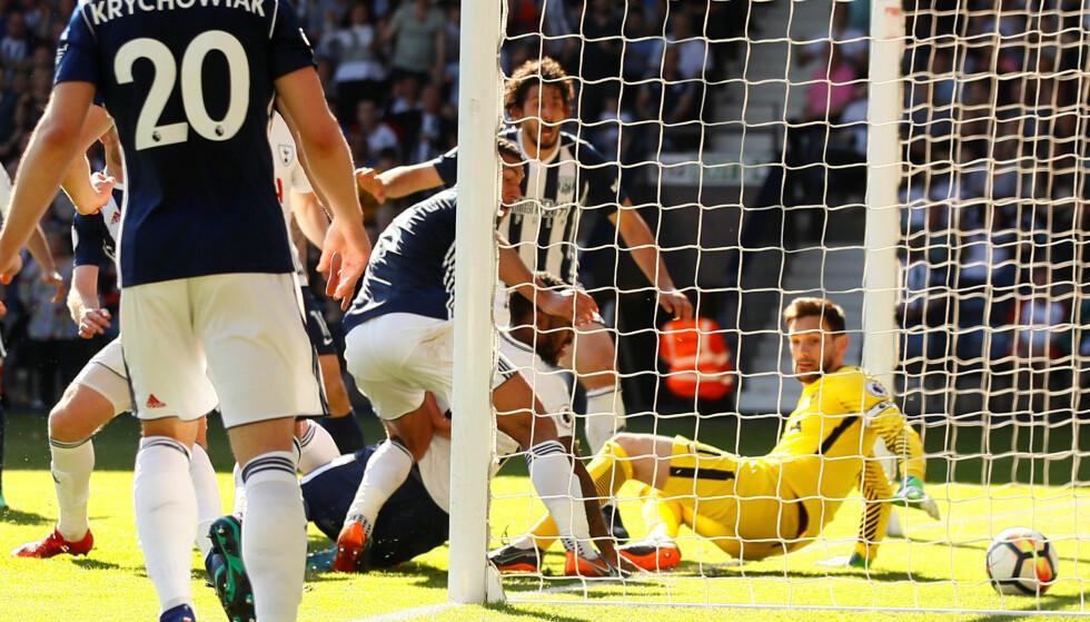 SCORING: Jake Livermore scoret på overtid og holder håpet om fornyet Premier League-kontrakt i live. Foto: Reuters / Jason Cairnduff