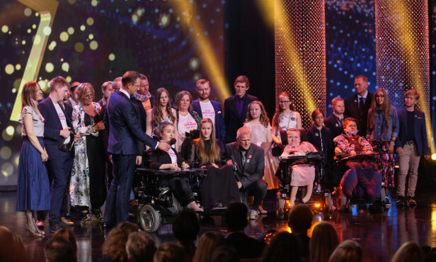 RØRENDE HISTORIE: Det var TV 2-programmet «Søsken» som vant i kategorien «beste dokumentarserie». Foto: TV 2