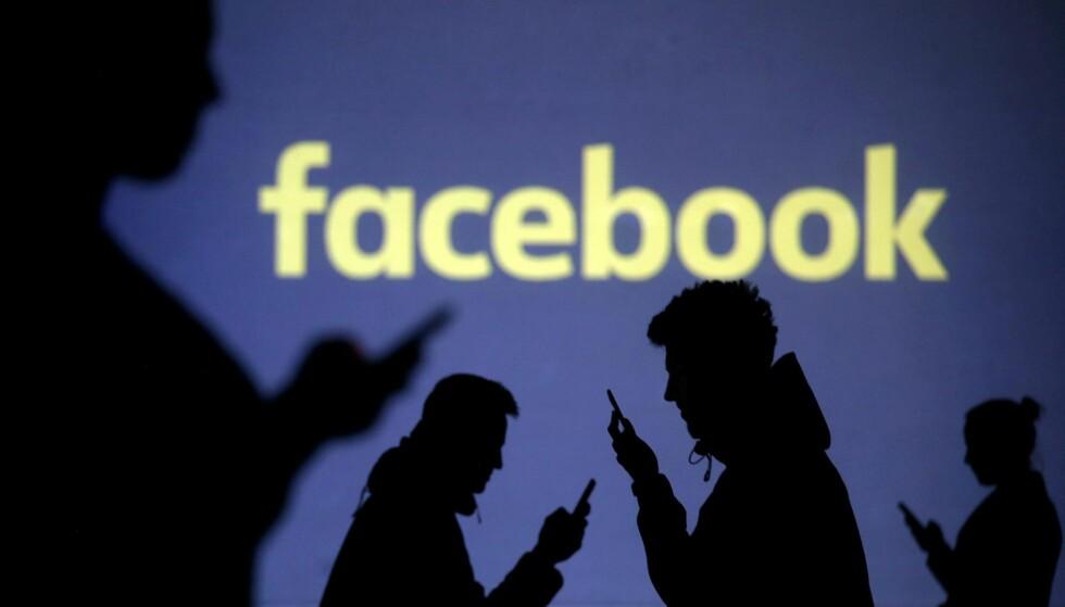 FUNGERER IKKE: Facebook er for tiden nede.