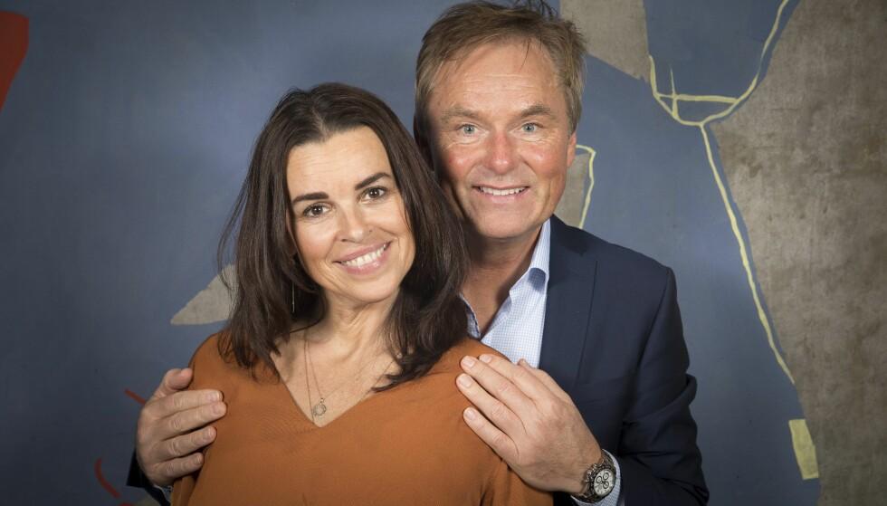 BRUDD: Dag Erik Pedersen og Ania Veliz har flyttet fra hverandre. De har vært sammen i 28 år, og har to døtre sammen. Foto: Espen Solli