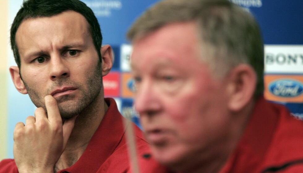 BER FOR MANAGEREN: Ryan Giggs spilte lenge under Alex Ferguson. Foto: REUTERS/Dario Pignatelli