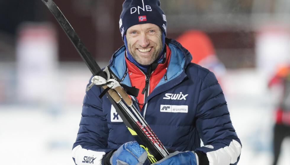 FORTSETTER IKKE: Odd-Bjørn Hjelmeset er ferdig i jobben som idretts- og markedssjef i skiskytterforbundet. Foto: Lise Åserud / NTB scanpix