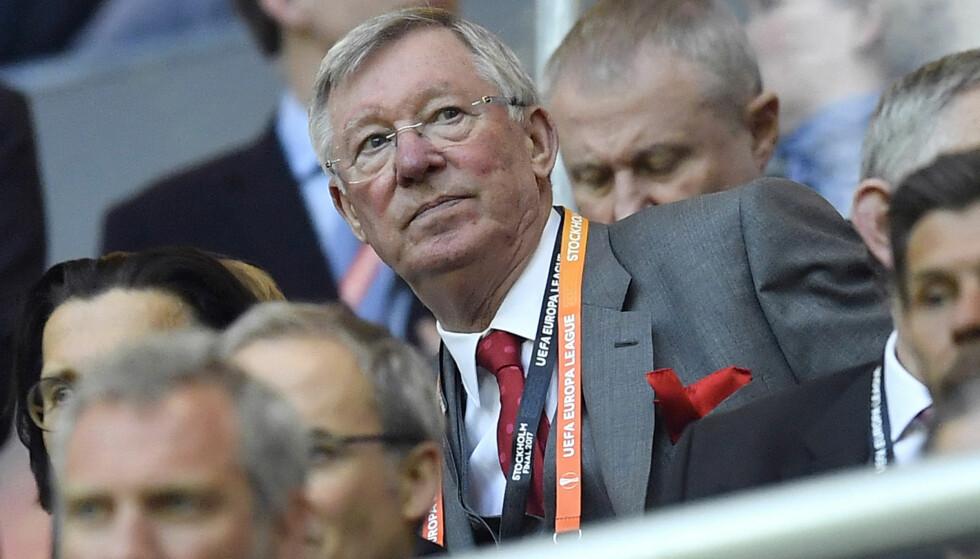 Sir Alex Ferguson falt om hjemme lørdag og ble kjørt til sykehus for en hasteoperasjon. Foto: Martin Meissner / AP / NTB scanpix