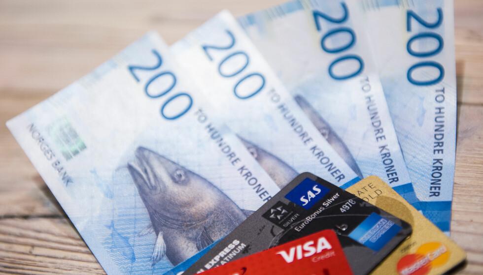 USIKRE PENGER: Forbrukslån er gjerne svært dyre, med en lånerente som ofte ligger på 20 prosent eller mer. Illustrasjonsfoto: Jon Olav Nesvold / NTB scanpix