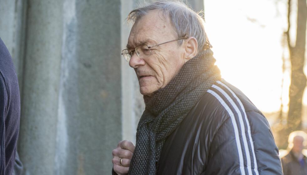 BISATT: Bjørn Hansen ble bisatt tirsdag. Foto: Alley, Ned / NTB scanpix