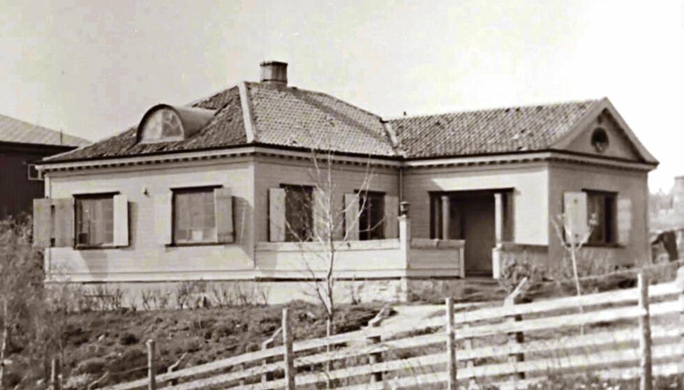 «BANDEKLOSTERET»: Jonsvannsveien 46 i Trondheim var hovedkvarteret til Rinnan-banden. Foto: Storytelling media