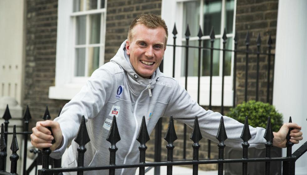 LØPSMASKIN: Sondre Nordstad Moen er Europas beste på maraton. Nå tar han grep for å bli enda raskere. Foto: NTB scanpix / Junge, Heiko