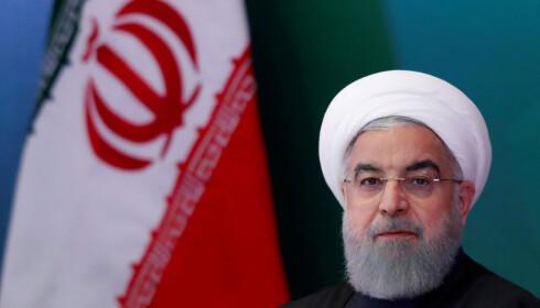 VIL FORHANDLE: Irans president Hassan Rouhani. Foto: REUTERS / Danish Siddiqui / NTB scanpix