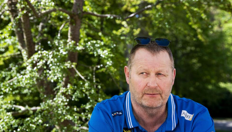 IKKE PÅ DET NIVÅET VI KAN: Det mener landlagssjef Petter Thoresen etter tapet for Finland. Foto: NTB/Scanpix