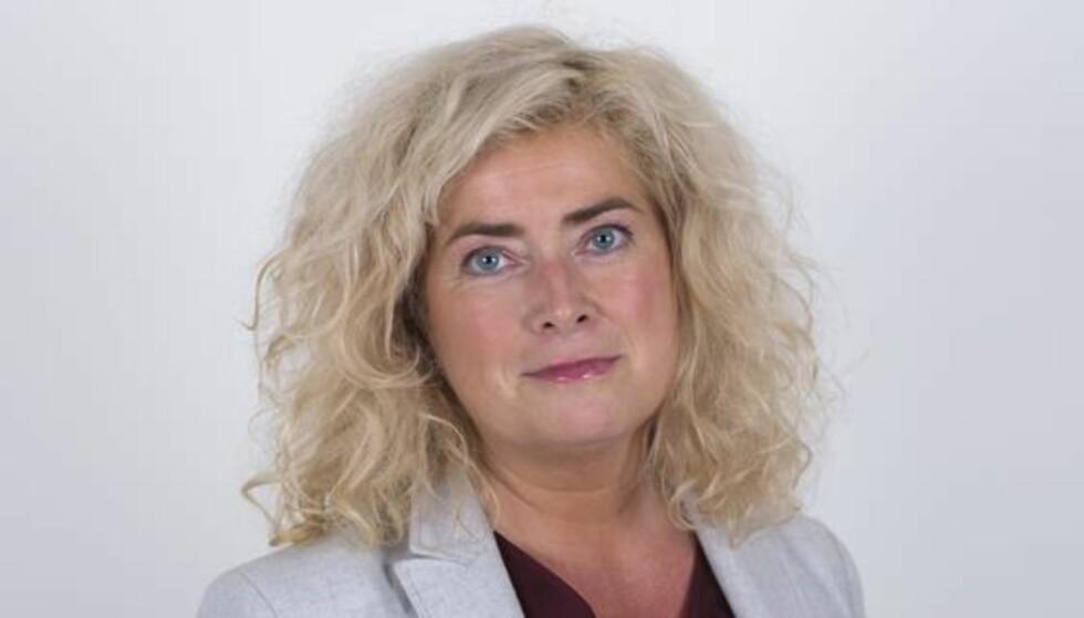 TREKKER SEG: Styreleder Marianne Telle i Helse nord. Foto: Helse nord