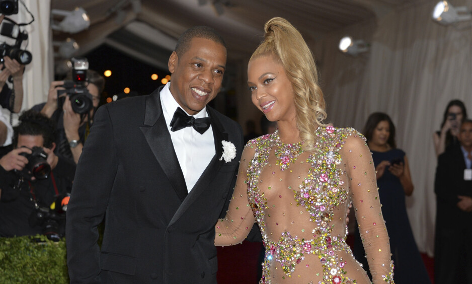 TRUER NTNU: Beyoncé og ektemannen Jay Z på Met-gallaen i 2016. Sistnevnte eier strømmeselskapet Tidal og kona er medeier. Foto: NTB scanpix