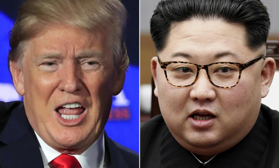 SKAL SNART MØTES: USAs president Donald Trump skal møte Nord-Koreas leder Kim Jong-un. Det er ikke blitt bekreftet fra offisielt hold når og hvor møtet skal finne sted, men ifølge flere amerikanske medier skal møte finne sted i Singapore. Foto: Manuel Balce Ceneta, Korea Summit Press Pool via AP / NTB scanpix