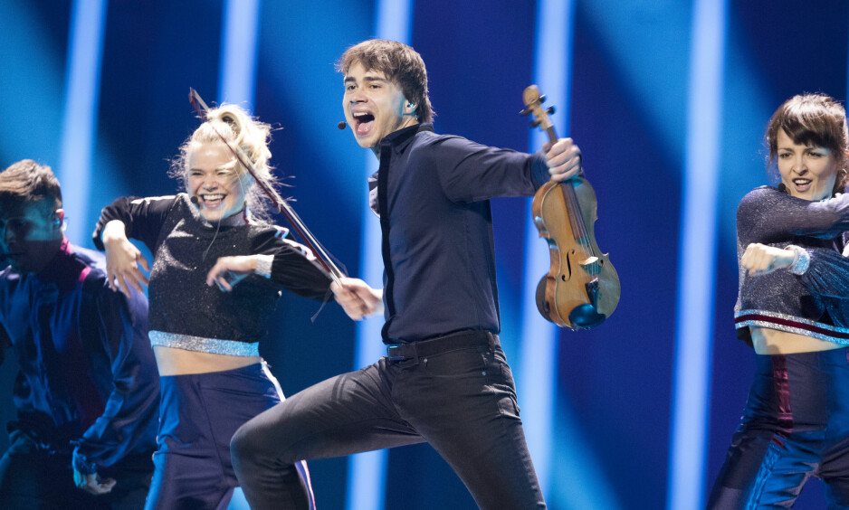 TIL FINALEN: Torsdag gikk Alexander Rybak videre i Eurovision Song Contest. Foto: NTB Scanpix