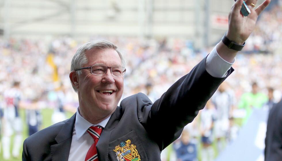 TAKKER FOR STØTTEN: Sir Alex Fergusons familie uttaler seg for første gang etter at den tidligere United-treneren ble innlagt på sykehus. Foto: NTB Scanpix