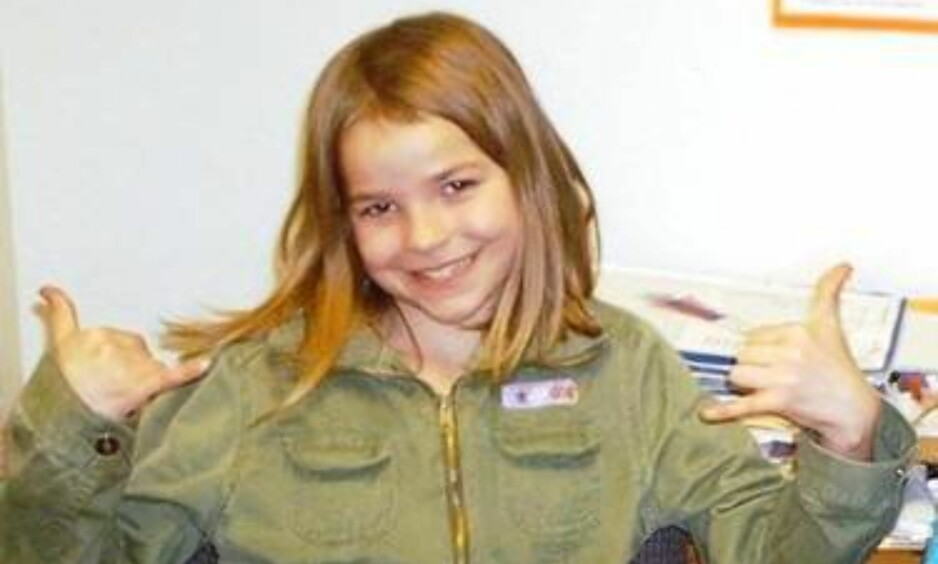 FUNNET DREPT: Lindsey Baum forsvant da hun var ti år gammel. Nå er hun funnet død i et avsidesliggende område i staten Washington. Foto: Privat