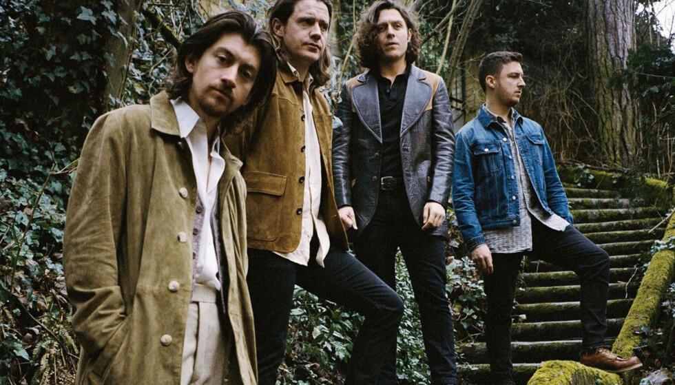 REDEFINERT: Arctic Monkeys har lagt bort rocken for en stakket stund. Foto: Zackery-MIchael