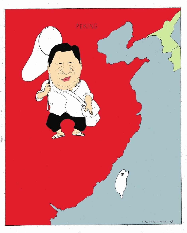 Taiwan i stadig strammere skvis