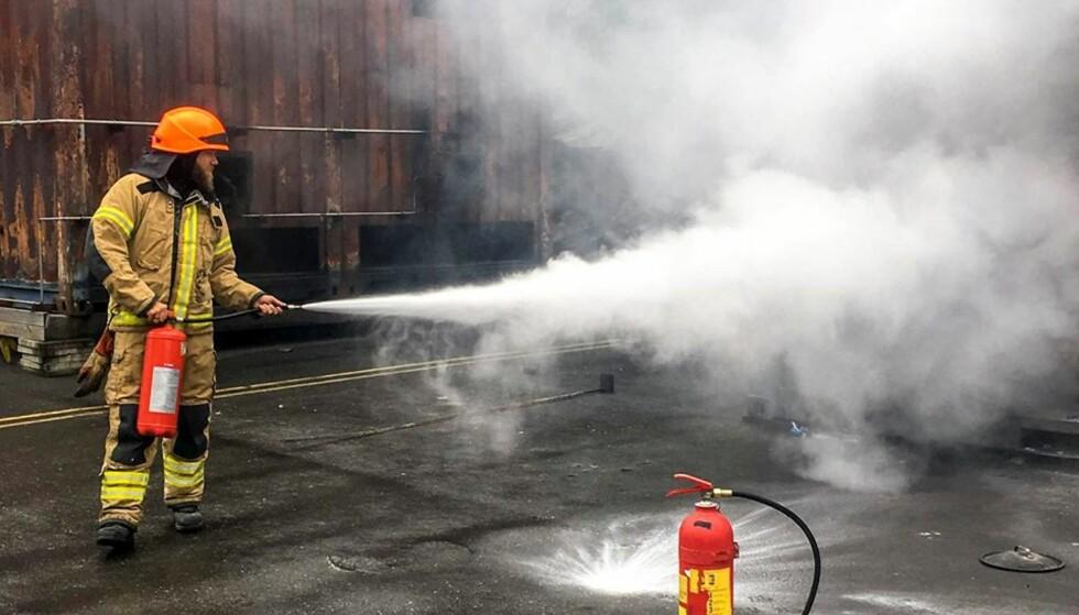 - LITE OVERFØRBART: Slik vi ser det, er dette eksempelet lite overførbart til et brannscenario hjemme hos deg, skriver artikkelforfatteren. Foto: Oslo brann- og redningsetat