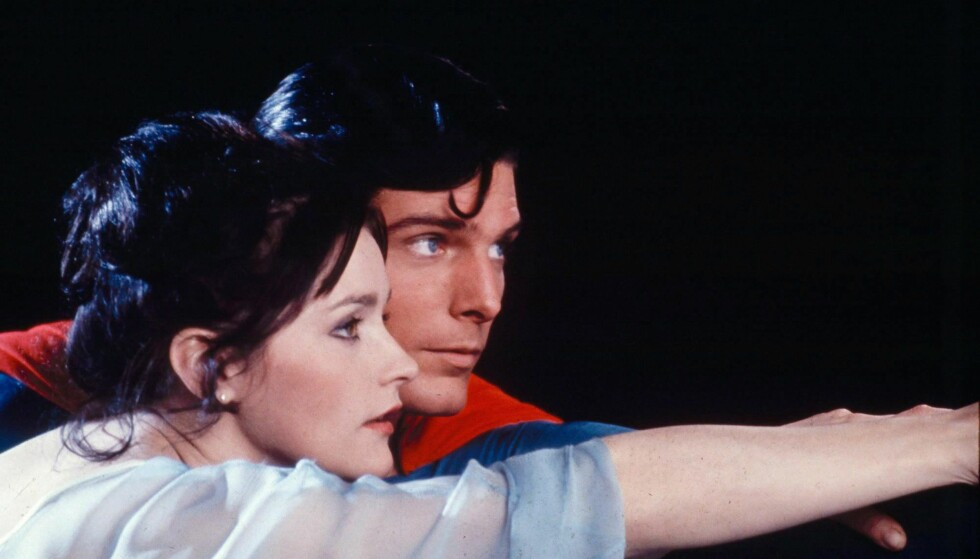 KJENT ROLLE: Margot Kidder i rollen som Lois Lane i filmen fra 1978. Foto: NTB scanpix