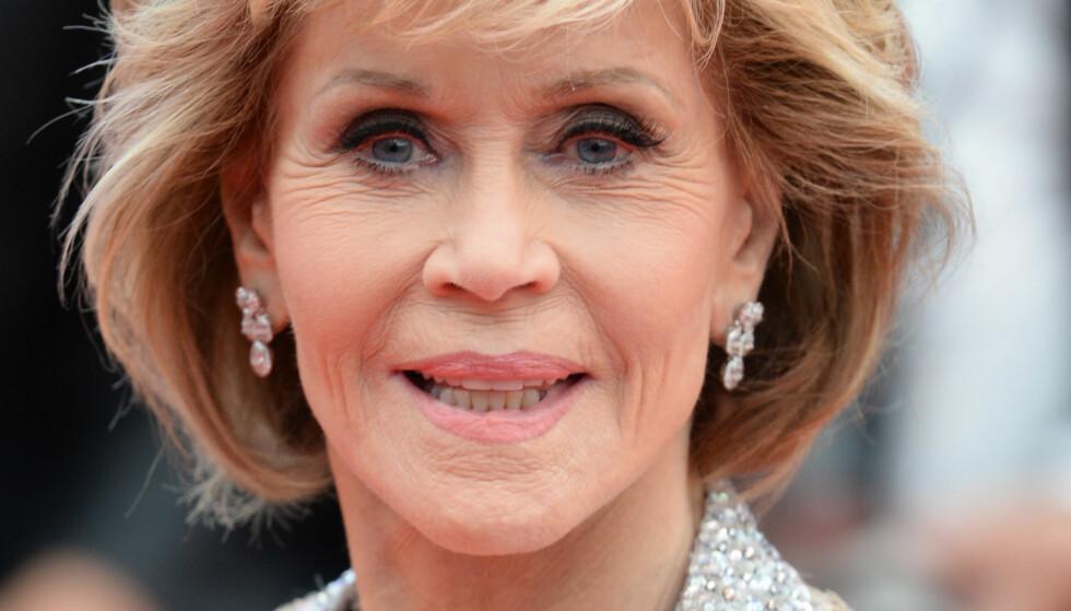 SENT OPPGJØR: Først da Jane Fonda oppdaget at moren var bipolar, forstod hun at det dårlige forholdet ikke hadde vært hennes feil. Hun er nå på filmfestivalen i Cannes for å snakke om filmen om livet sitt. Foto: NTB Scanpix