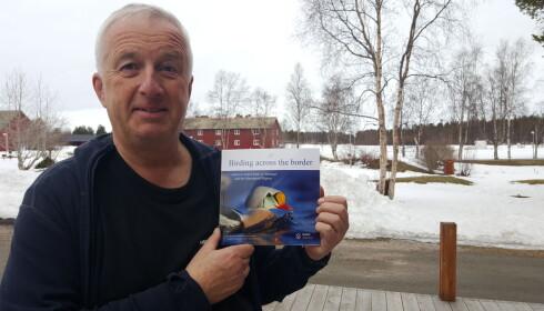Ekspert: Ornitolog Bjørn Frantzen. Foto: Thomas Nilsen.