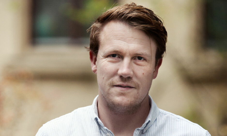 DEBUTANT: Bernhard Ellefsen er litteraturkritiker i Morgenbladet, og debuterer selv som forfatter i vår. Foto: CAPPELEN DAMM