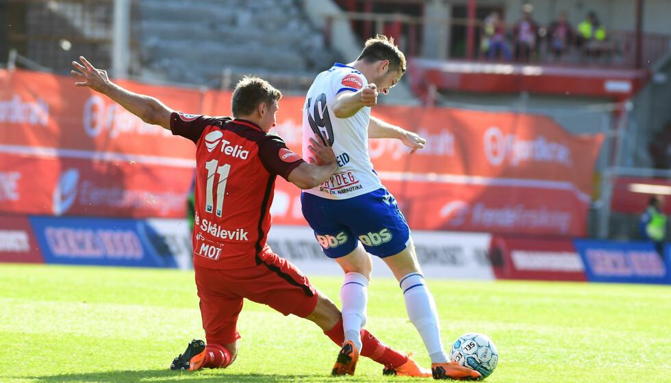 Bergen  20180516. Eliteseriekampen i fotball mellom Brann og Haugesund på Brann Stadion. Foto: Marit Hommedal / NTB scanpix