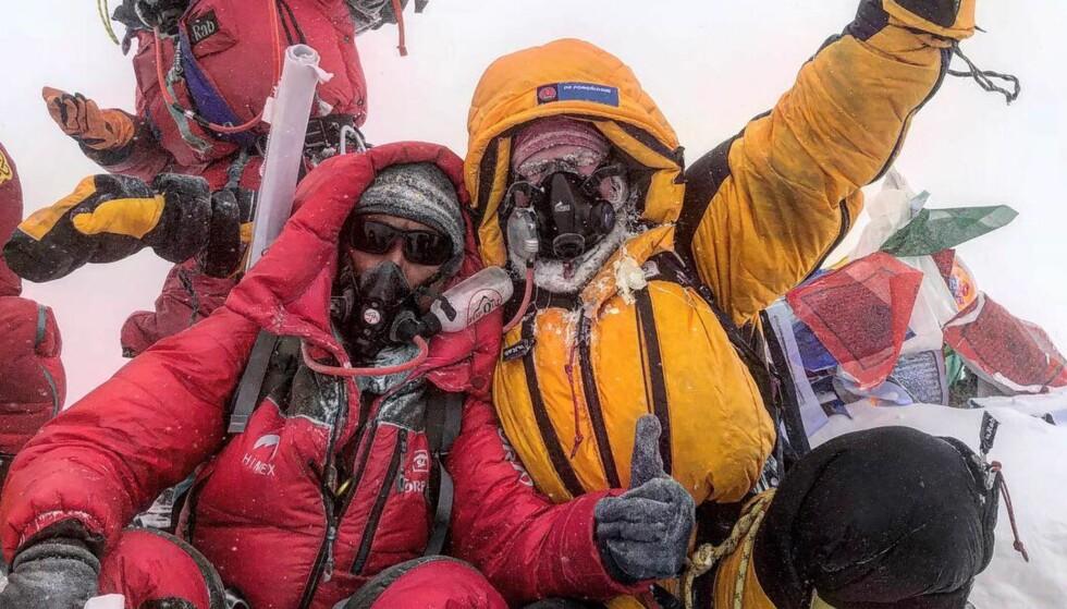 TROSSET SYKDOM: Moa Hundseid trosset sykdomsplager i forkant, og kjempet seg til topps på Mount Everest, som yngste norske kvinne noensinne. Foto: Moa Hundseid