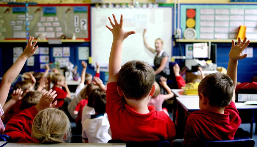 SITT BESTE: - Jeg vil vite at jeg gjorde mitt beste for alle elevene mine, skriver Jørgen Damslora. Illustrasjonsfoto: NTB Scanpix