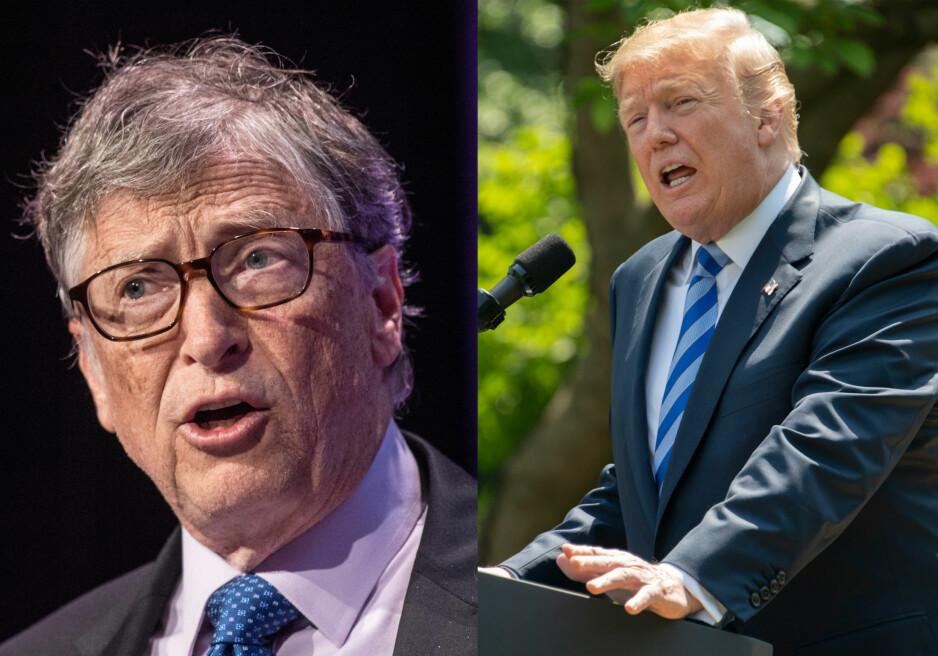 Bill Gates: Trump spurte om forskjellen på HPV og HIV