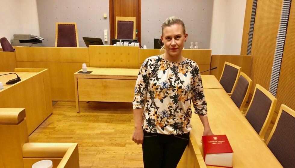 KØ: - Selv om det kommer småpenger til Borgarting lagmannsrett, løser det ikke køene i norske domstoler, sier Lene Vågslid, leder i Stortingets justiskomité. Foto: Gunnar Ringheim / Dagbladet