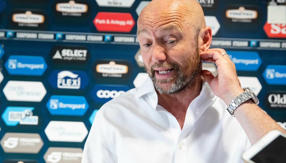 FÅTT SPARKEN: Start har sparket Mark Dempsey etter en seier på de ti første serierundene og jumboplass i Eliteserien. Foto: Audun Braastad / NTB scanpix