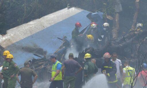 image: Passasjerfly styrtet under avgang i Havanna, melder cubanske medier