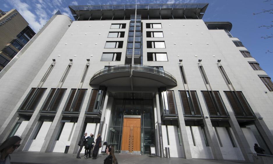RETTEN NESTE: En mann i 20-åra må i desember møte i Oslo tingrett, tiltalt for trusler mot et homofilt par. Politiet i Oslo mottar ukentlig anmeldelser om hatkriminalitet på grunn av seksuell legning. Foto: Terje Pedersen / NTB scanpix